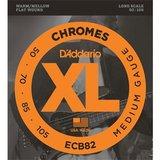 D'Addario ECB82 Chromes Bass Medium 50-105_