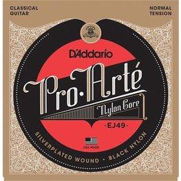 D'Addario EJ49 Pro-Arte Classical Normal Tension Black Nylon
