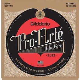 D'Addario EJ52 Pro-Arte Alto Guitar Normal Tension Clear Nylon