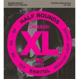 D'Addario ENR71SL Half Rounds Bass Regular Light 45-100