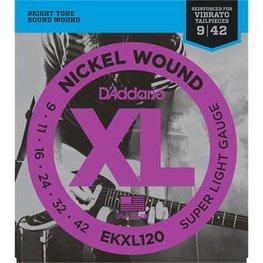 D'Addario EKXL120 Super Light Reinforced
