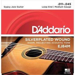 D'Addario EJ84M Silver Wound Loop End Medium 11-45