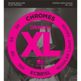 D'Addario ECB81SL Chromes Bass Regular Light 45-10