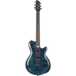 Godin Signature LGX SA Flame AAA Trans Blue