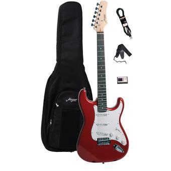 Morgan Guitars ST250 Metallic Red Guitar Pack