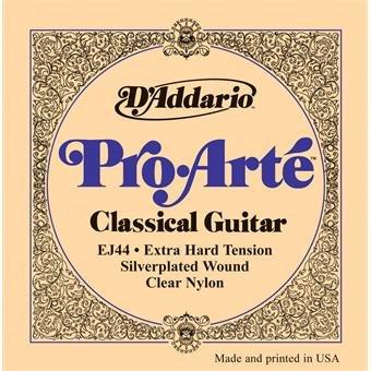 D'Addario EJ44 Pro-Arte Classical Extra Hard Tension Clear Nylon