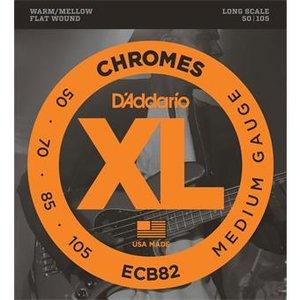 D'Addario ECB82 Chromes Bass Medium 50-105